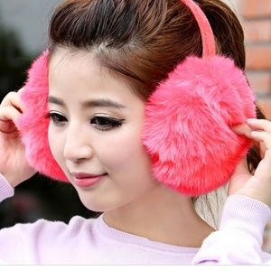 Accessories - New! Oversized Fur Ear Muffs